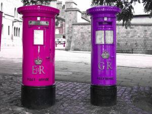 King George Commemorative Postbox, Windsor by Assaf Frank