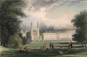 Kings College from Clarehall (Restrike Etching) by Frederick MacKenzie