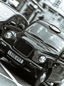 Black Cab London Taxi by Assaf Frank