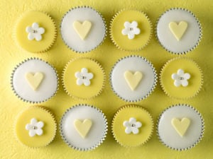 Yellow Cupcakes I by Assaf Frank
