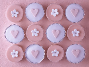 Pink Cupcakes I by Assaf Frank