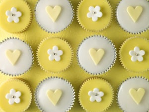Yellow Cupcakes II by Assaf Frank