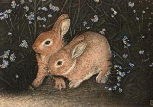 The Wild Wood (Restrike Etching) by Alex Mackay
