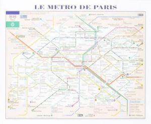 Le Metro de Paris by Anonymous