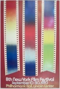 Lincoln Center Film Festival, '70 by James Rosenquist