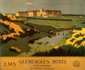 Gleneagles Hotel by British Rail