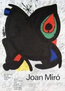 Grand Palais, 1974 by Joan Miro