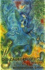 The Magic Flute (Die Zauberflote) by Marc Chagall