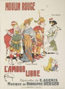 Moulin Rouge - L'Amour Libre by Joe Bridge
