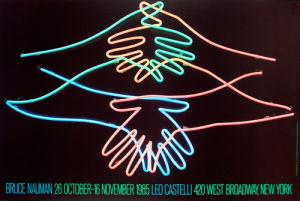 Big Welcome, 1985 by Bruce Nauman