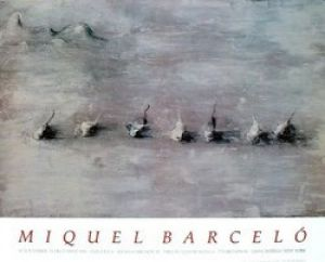 Paysage Avec Sept Fruits, 1989 by Miquel Barcelo