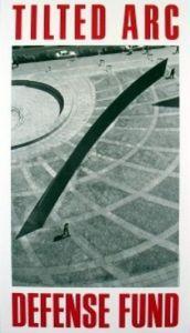Tilted Arc Defense Fund by Richard Serra