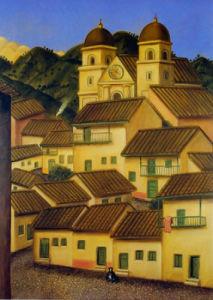 El Pueblo by Fernando Botero