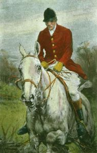Huntsman (Plate 1) (Restrike Etching) by Wright
