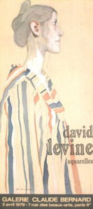 Aquarelles by David Levine