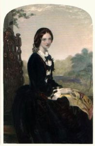Claudie (Restrike Etching) by Louis W. Desanges