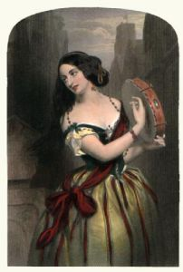 Teresa's Sketch (Restrike Etching) by W. Gush