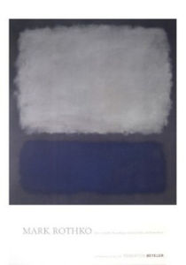 Blue & Gray, 1962 by Mark Rothko