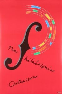 The Philadelphia Orchestra by Milton Glaser
