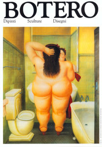 The Bath by Fernando Botero