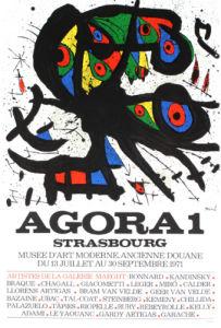 Agora 1, 1971 by Joan Miro
