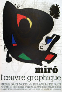 Miro, L'oeuvre Graphique, 1974 by Joan Miro