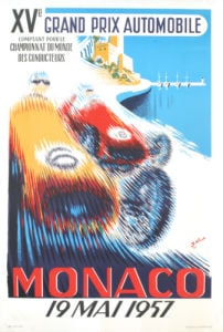 Monaco Grand Prix 1957 by B. Minne
