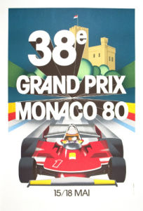 Monaco Grand Prix, 1980 by Anonymous