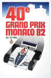 Monaco Grand Prix 1982 by Anonymous