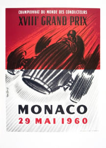 Monaco Grand Prix 1960 by Jose Lorenzi