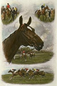 First Favourite (Restrike Etching) by Wright
