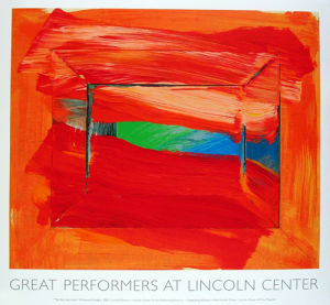 The Sky's The Limit, 2002 by Sir Howard Hodgkin