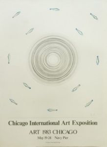 Chicago Art Fair 1983 by Edward Ruscha