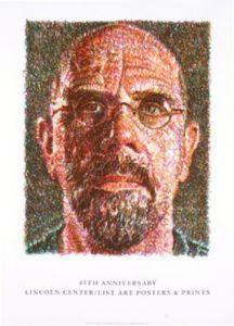 Self Portrait, 2007 by Chuck Close