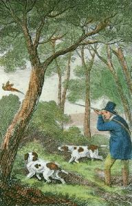 Pheasant Shooting (Restrike Etching) by Samuel Howitt