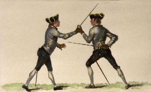 Disarmed (Restrike Etching) by J. Gwyn