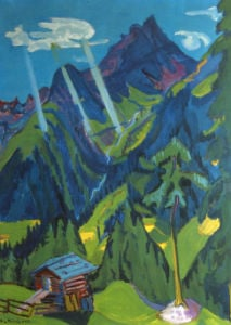 Bundner Lands by Ernst Ludwig Kirchner