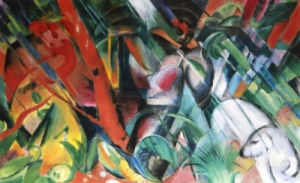 The Hunt by Franz Marc