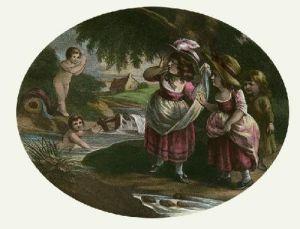 Summer's Amusement (Restrike Etching) by William Hamilton