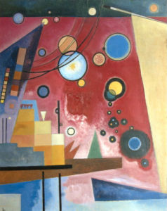Composition with Red by Wassily Kandinsky