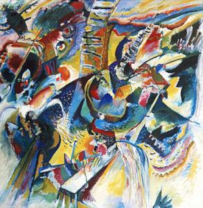 Improvisation Klamm by Wassily Kandinsky