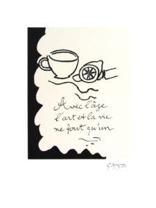 Avec L'age,1917-1947 by Georges Braque