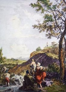 Peasant Mother, The (Restrike Etching) by Anonymous