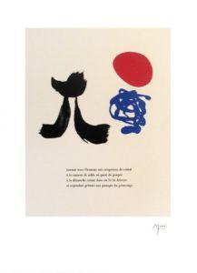 Illustrated Poems-'Parler Seul' VIII by Joan Miro