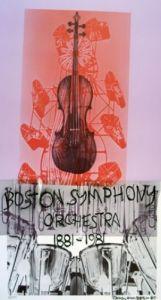 Boston Symphony Orchestra, 1981 by Robert Rauschenberg