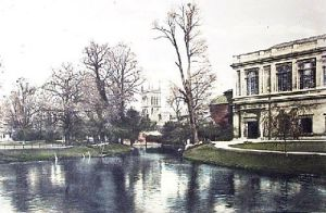 On the Cam (Restrike Etching) by Anonymous