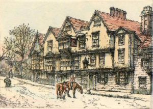King's Head (Restrike Etching) by Anonymous