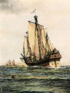 Santa Maria, The (Restrike Etching) by Wilde Parsons