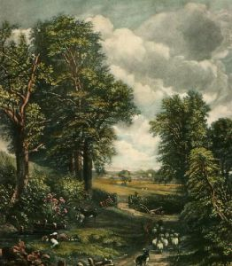 The Cornfield (Restrike Etching) by John Constable