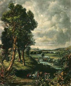 Dedham Vale (Restrike Etching) by John Constable